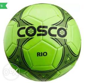 Green Cosco Rio Soccer Ball