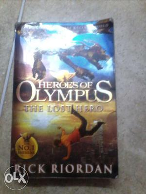 Heroes of Olympus; the lost hero,the son of