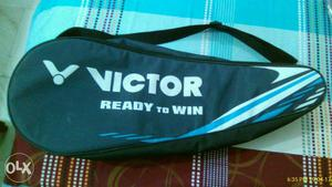 Two brand new victor badminton racket with badminton carry