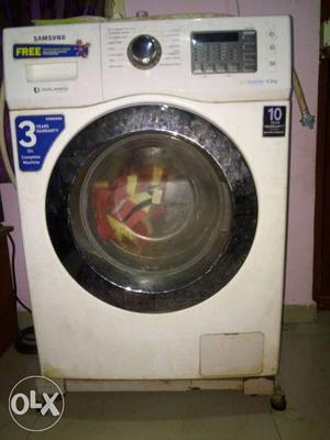 6.5 kg washing machine front load 1 year old price