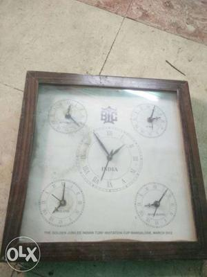 For vintage lovers 50 year old kerosin stove and wall clock