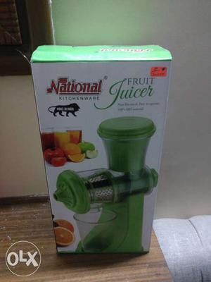 Fruit juicer, brand new piece. want to sell it on