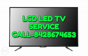 Lcd led tv service. Fault in tv call for fixed the problem
