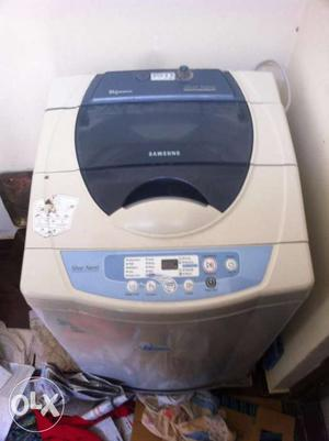 Samsung fully automatic top loading 6kg washing machine 8