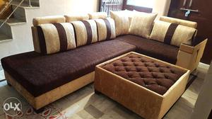 Brand new L shape sofa with good price with good quality