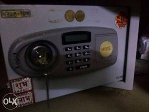 Electronic number + key lock safe lock in new