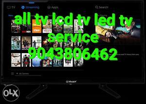 Negative Bubbles backlight LCD LED TV Service