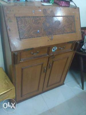 Study table foldable cupboard drawers multipurpose