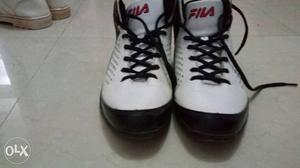 Fila shoes size 8 for boys with box in perfect