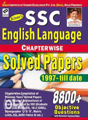 SSC Kiran's English Language and Reasoning Solved Papers