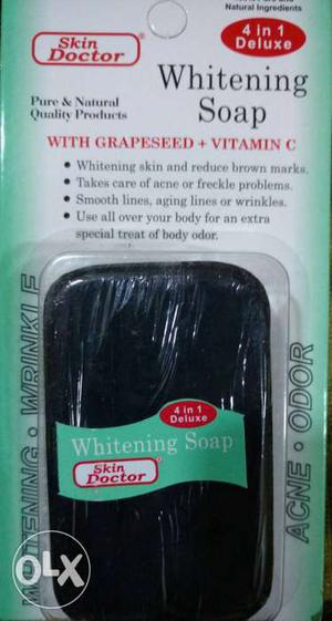 Skin doctor whitening soap. made in Thailand 80g