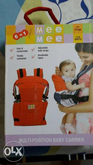 Baby's Mee Mee 6 In 1 Carrier