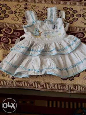 Cotton frock for 2year old girls in good condition