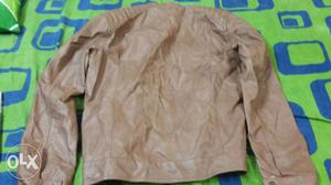 Its a brand new leacther jacket brand name only &