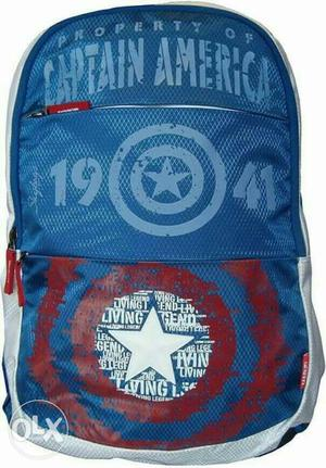 It's new skybags 'marvel'(with captain america