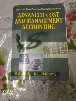 Advanced Cost and Management Accounting, Kalyani