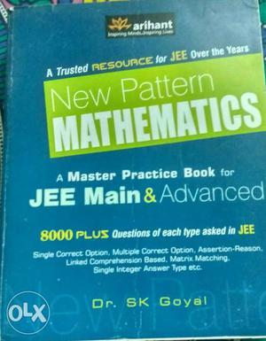 Arihant New Pattern Mathematics for JEE Main &