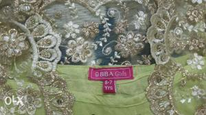 BIBA brand new dress for girls (6-7) years size