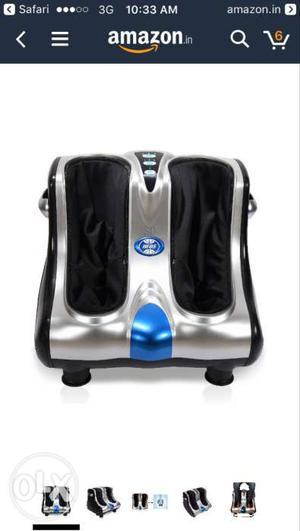 Brand new Never Used JSB HF05 leg massager at  only (MRP