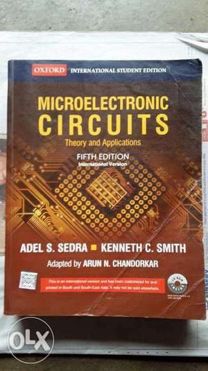Oxford Microelectronic Circuits Theory and Applications