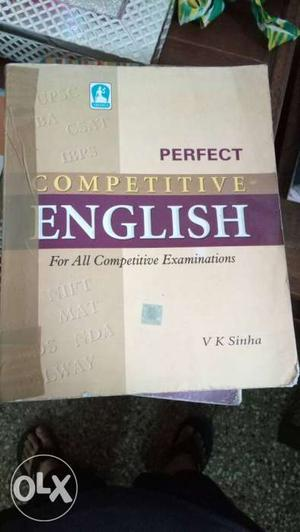 Vk sinha best english book for upsc ssc and bank