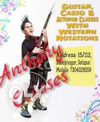 Anthony Classes Advertisement