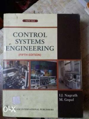 Control Systems Engineering Fifth Edition Book
