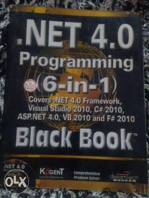 . Net 4.0 Black book programming 6 in 1 book