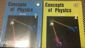 Physics HC Verma Part 1 and 2 worth Rs 400