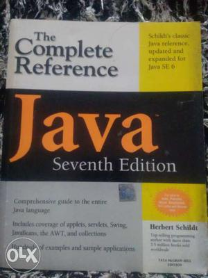 The Complete Reference Java 7th edition by TMH