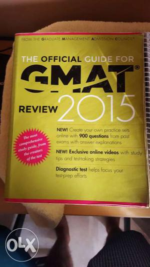 The Official Guide For GMAT Review  and all manhattan