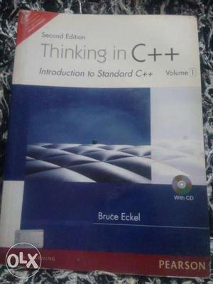 Thinking in C++ book by Bruce Eckel, publication