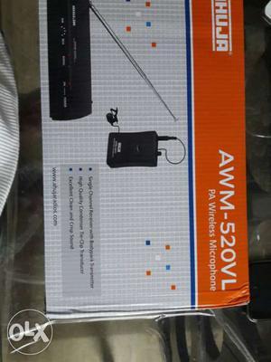 Ahuja Awm-520vl Pa Wireless Microphone-new