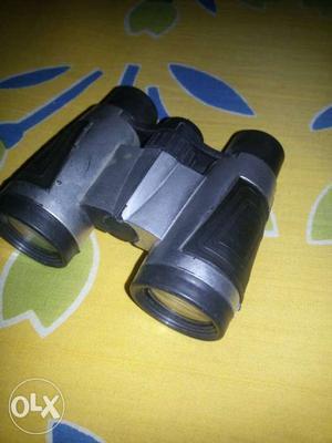 Black And Grey Binoculars