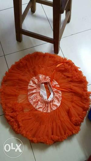 I want to sell this beautiful tutu skirt set for