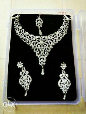 Jewellery Set - Artificial Stone Jewellery Set