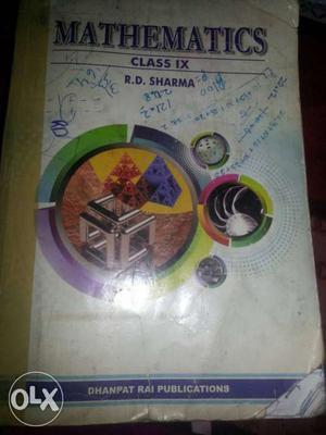 Mathematics Class 9 R.D. Sharma Textbook