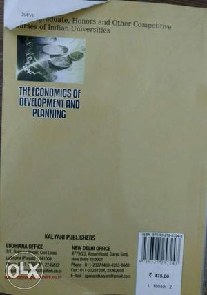 One of the best developmental economics books out