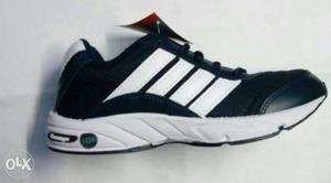 Black And White Athletic Shoe