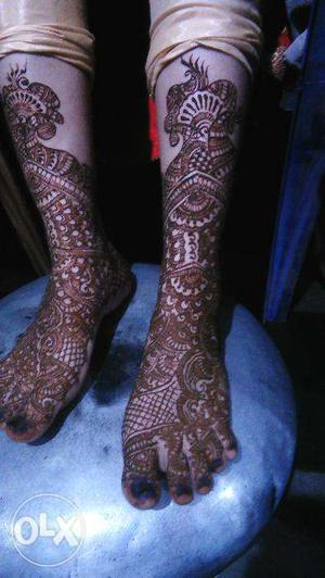 Book Bridal and other Mehendi design Artist in hubli and