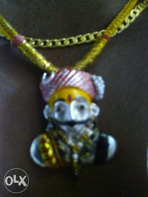 Khandoba in original silver this is patten pease