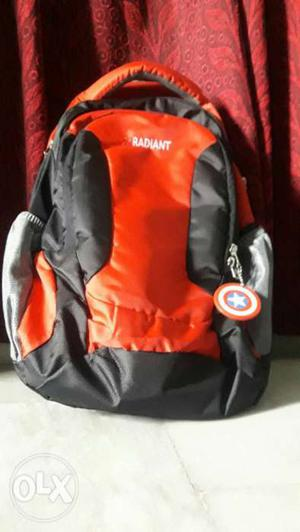 Radiant bag with captain america keychain.bought