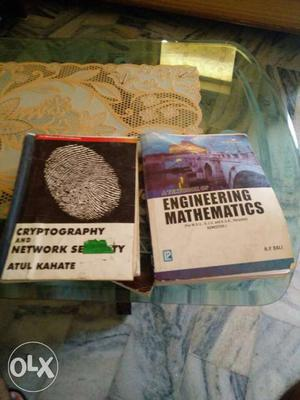 Btech books good condition. Ask me on msg if you