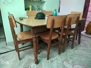 Dining Table set Table and six chairs