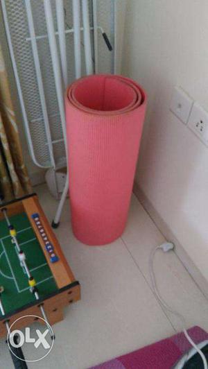 Hardly used Yoga mat, price negotiable