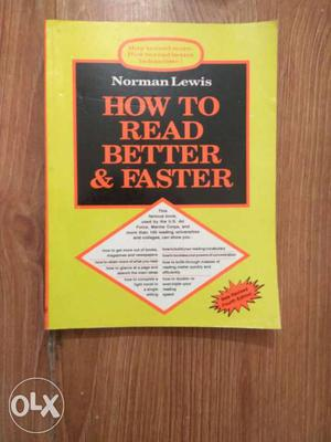 How To Read Better & Faster By Norman Lewis