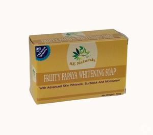 AE Naturals Premium Papaya Skin Whitening Soap With Sunblock