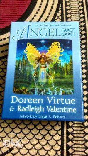 Angel Tarot Cards and BIG book of ANGEL TAROT,Romance Angels