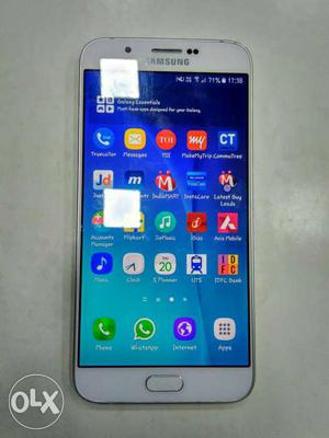Samsung galaxy A8 One year used good condition