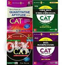 1. CAT Quant text book by Arun Sharma 2. CAT